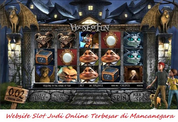 Website Slot Judi Online Terbesar di Mancanegara